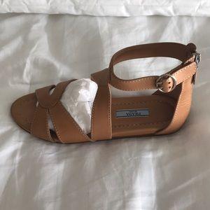 Prada Gladiator flat sandals color natural size 7